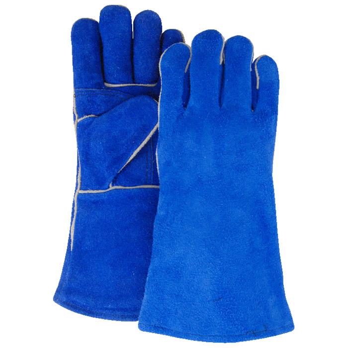 (Tiếng Việt) Găng tay da hàn Honeywell Blue Welding